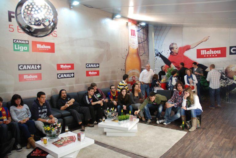 Espacios VIP en la Casa del Fútbol