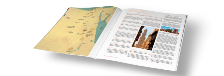 maquetación catálogos de viaje