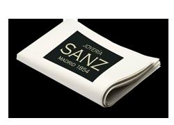 Anuncios en prensa de Sanz