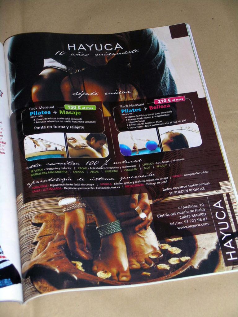 Anuncios de publicidad y Publicity para Hayuca