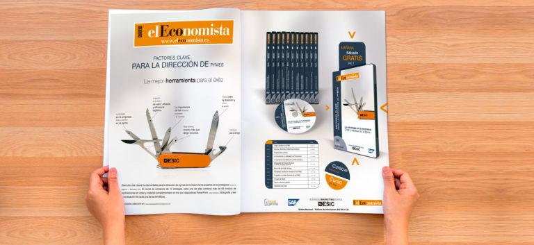 Campaña de publicidad de lanzamiento de producto