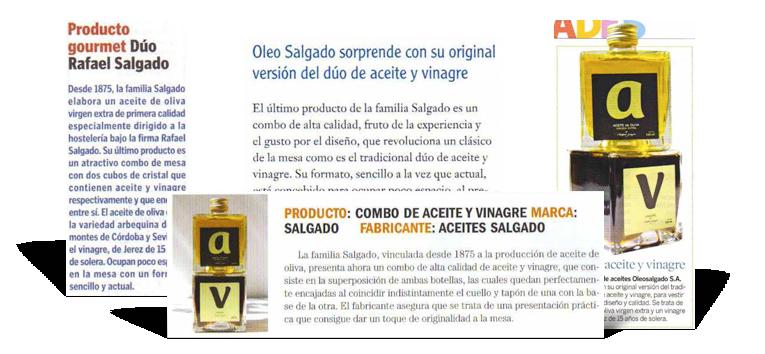Publicity y campaña de relacciones públicas aceite de oliva