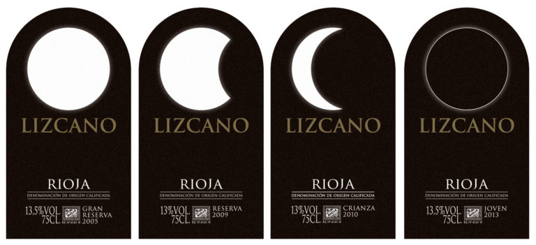 iseño de etiquetas de vino Lizcano, restyling de marca