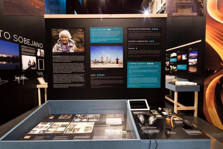 Diseño de exposición, diseño de mobiliario y diseño gráfico. Museografía