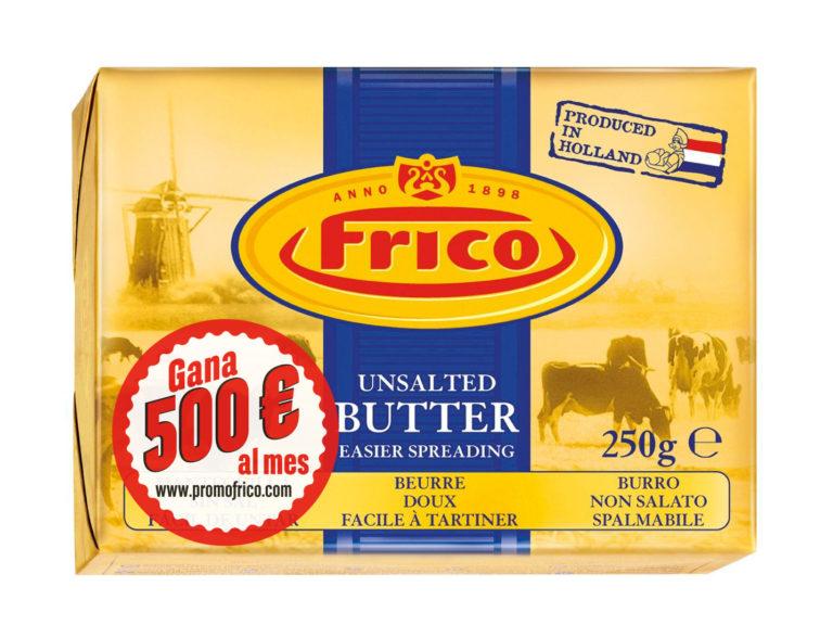 ampaña de publicidad promocional de las mantequillas Frico