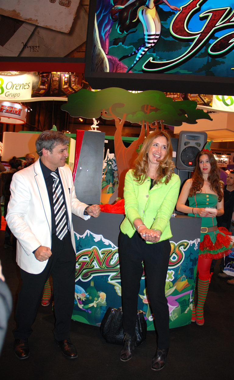 Animación en Stands de Feria, Magia Magnet Stand