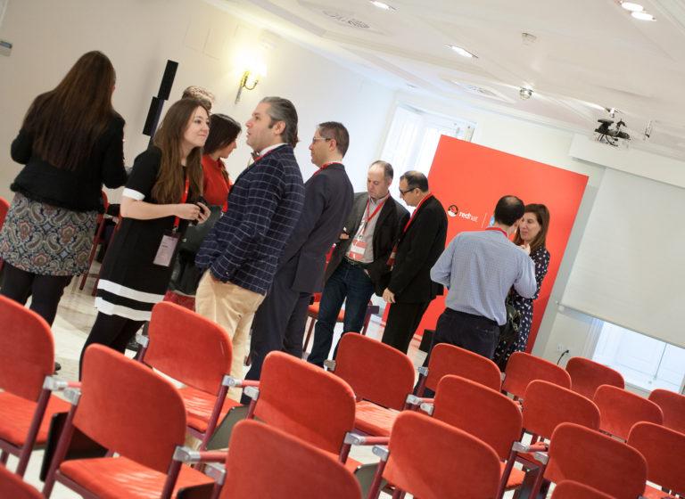 Taller de robótica empresarial, evento ejecutivo VIP